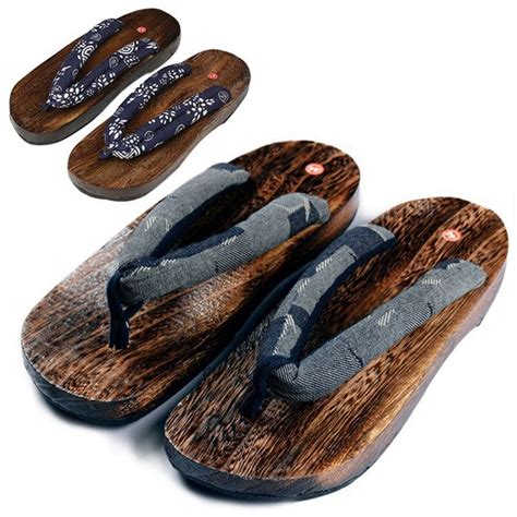 japanese shoes summer japanese wooden geta clogs shoes new slippers