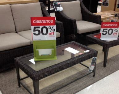 Clearance Furniture by What To Expect At Target In June Furniture Patio