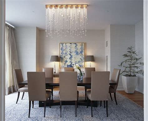crystal dining room crystal lighting ideas and designs for glamorous dining