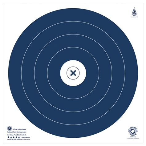 printable nfaa targets maple leaf press inc nfaa official animal paper targets