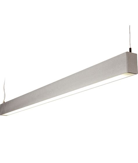 suspended linear led lighting suspended linear light with direct and indirect light