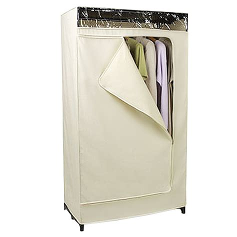 Cloth Wardrobe Closet Portable Closet Canvas Clothes Closet The Container Store