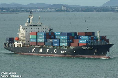 ship particular kmtc chennai vessel details for kmtc singapore container ship imo