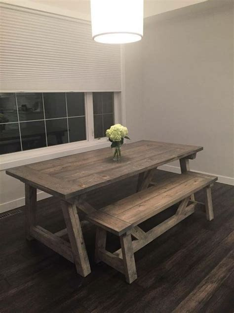 rustic home decor ana white diy shanty 2 chic rustic shabby chic dining table