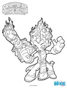 skylanders trap team coloring pages torch coloring pages hellokids