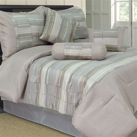 Silver Gray Comforter Set by Lavish Home 7 Comforter Sets