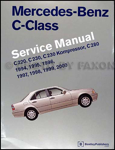 auto manual repair 1995 mercedes benz c class electronic toll collection 1995 mercedes sales brochure original all models