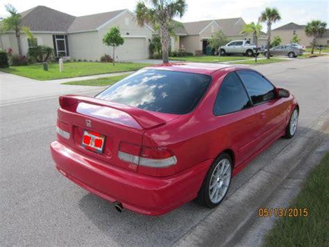 1999 2 door honda civic 1999 honda civic si coupe em1 1 6l 2 door