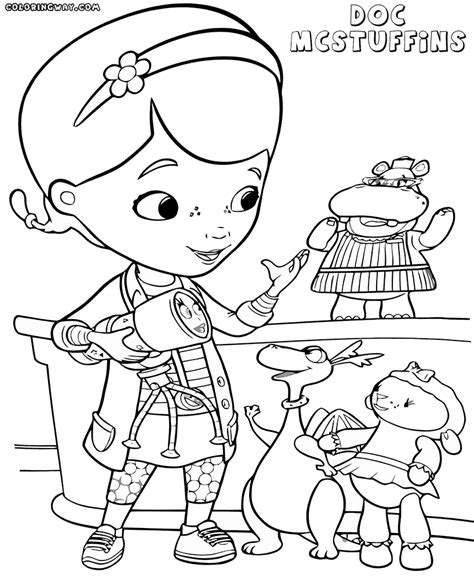 doc mcstuffins coloring pages coloring pages to download