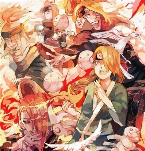 Kaos Deidara Akatsuki Chibi Boruto Anime 80 best deidara images on akatsuki anime