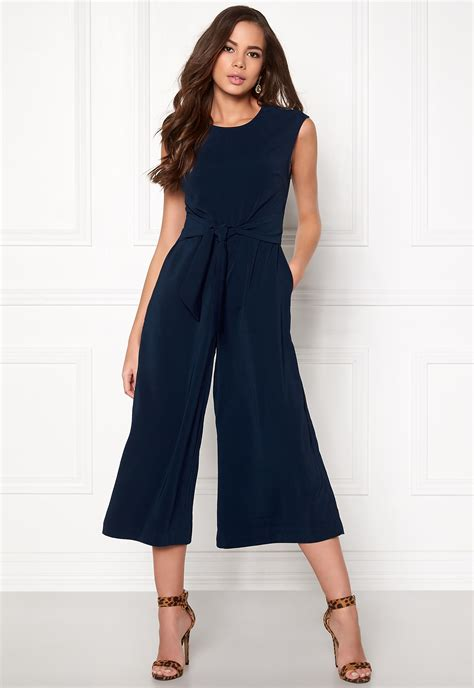 Cropped Jumpsuit vila melis cropped jumpsuit total eclipse bubbleroom