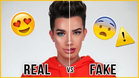 james charles palette trailer testing out fake makeup part 2 doovi