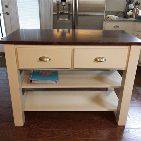 Kitchen Island Plans Free 11 Free Kitchen Island Plans For You To Diy