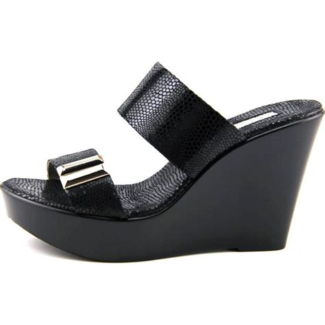 Sandal Wedges inc international concepts pandeh fabric black wedge sandal wedges