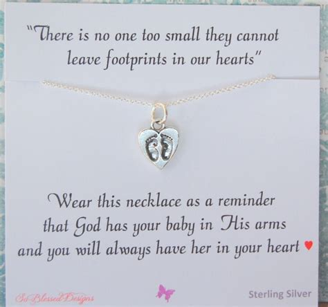 miscarriage necklace infant loss jewelry sympathy gift loss