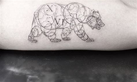 geometric tattoo woo geometric tattoos by dr woo who s been experimenting with