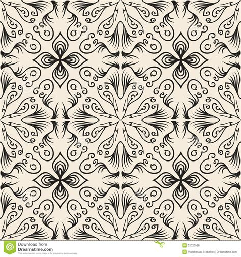 repeat pattern drawing seamless hand draw pattern vector texture stock vector