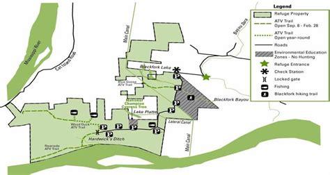 louisiana highway map pdf cat island national wildlife refuge