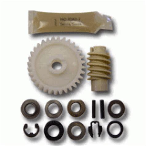 Garage Door Gear Kit by 41a2817 Drive Gear Worm Service Kit 041a2817