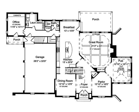 american house plans numberedtype