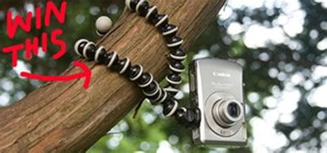 Gorilla Podflexible Pod submit your best bird s eye view photo by october 3rd win gorillapod tripod