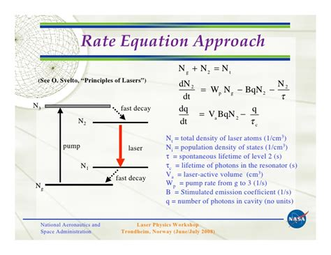 diode rate equation review of tm and ho materials