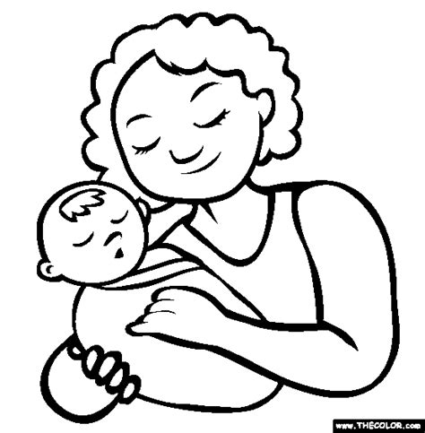mother s day online coloring pages page 1