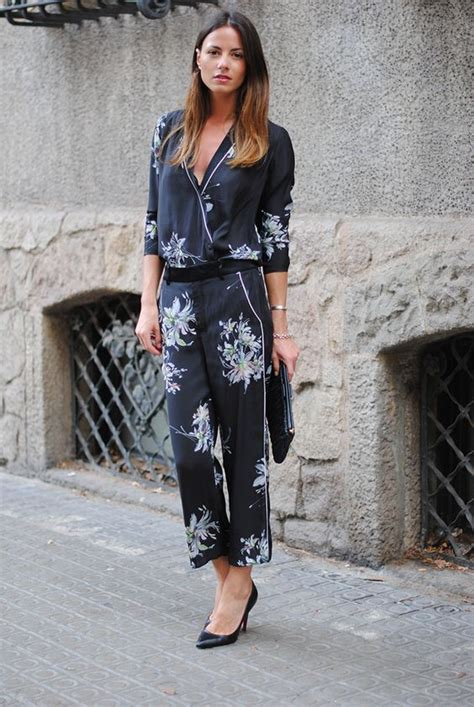 Piyama Flow Trendy how to wear the pajamas set to work for working