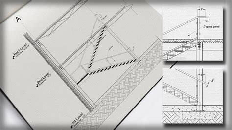 engineering patterns wod autocad tutorials gt drawing a stair detail in autocad