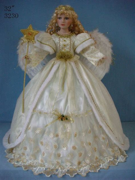 porcelain doll with umbrella gold umbrella bottom porcelain doll 32 inch with
