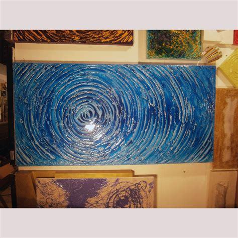 cornici d arredo quadro astratto moderno effetto acqua cornici e