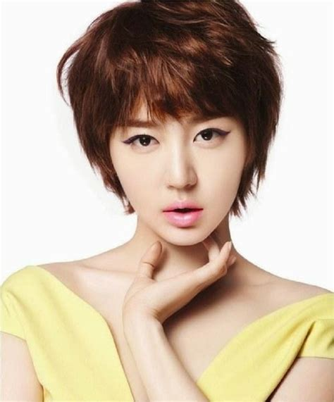 korean hairstyles cut different ideas to make the thin hair stand out with