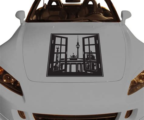 Autoaufkleber Drucken Berlin by Autoaufkleber Skyline Berlin Fenster Briefmarke Auto