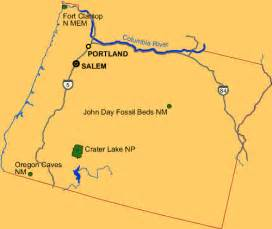 oregon national and state parks travel around usa
