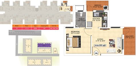 ideal homes floor plans 555 sq ft 1 bhk 1t apartment for sale in vijay raja ideal