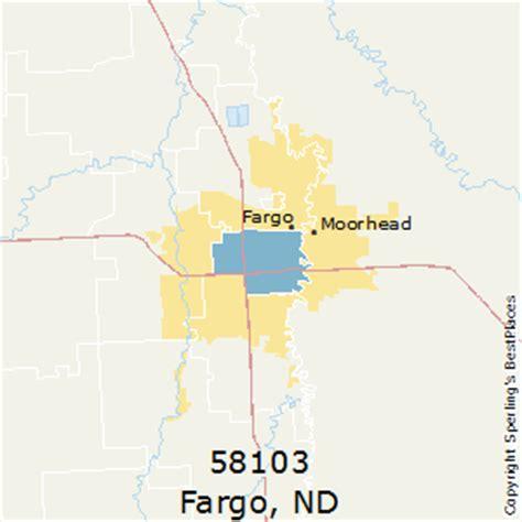 map of fargo nd best places to live in fargo zip 58103 dakota