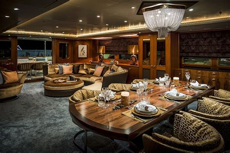 Yacht De Luxe Interieur 4726 by Interior Design Feadship Mega Yacht