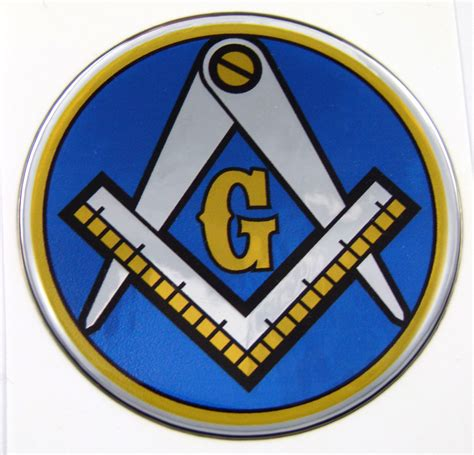 Masonic Emblems   Chrome Auto Emblems