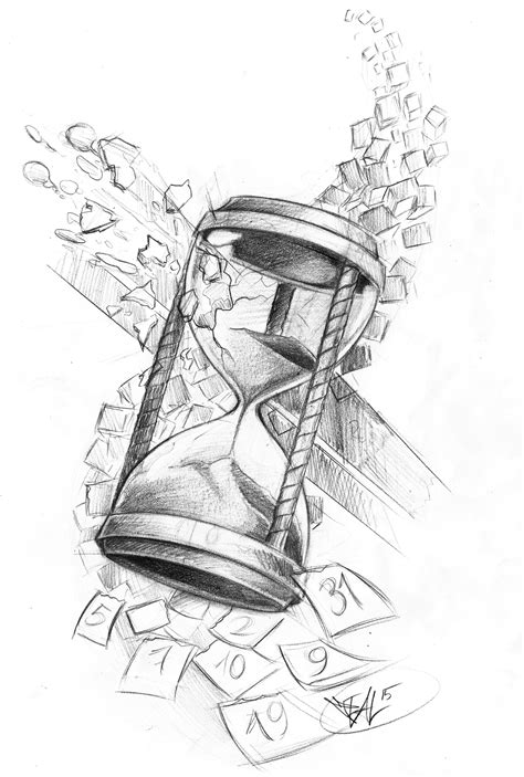 broken hourglass tattoo broken hourglass drawings hourglass