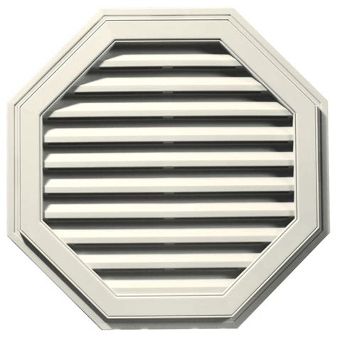 fypon gable vents fypon 24 in x 24 in polyurethane functional octagon