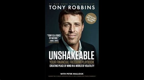 Unshakeable Your Financial Freedom Playbook tony robbins best selling products and books gobankingrates