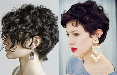 short curly hair pixie cut lovely short curly haircuts you will adore hairdrome com