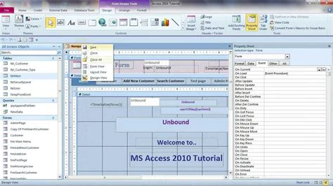 disable layout view for forms and reports in this database hide database window hide menu disable shortcut menu