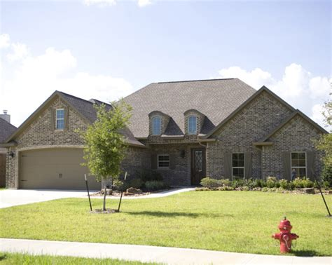 beaumont custom home builders abshire building group elevation gallery abshire building group