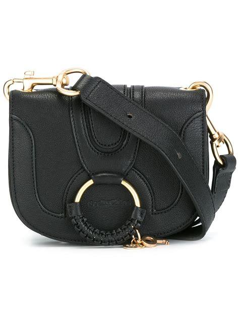 Handbag Hana 1 see by chlo 233 hana crossbody bag in black save 3 lyst