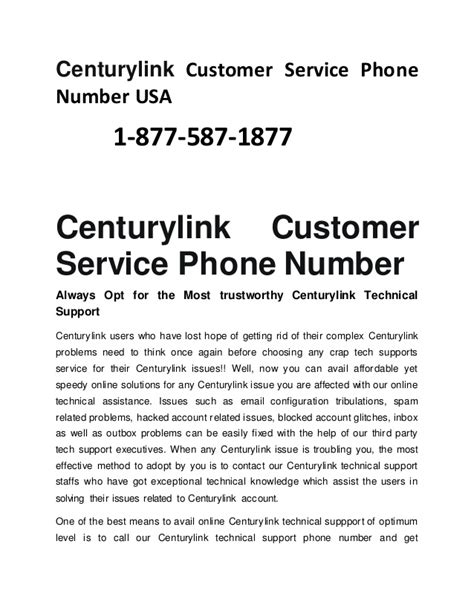 Centurylink Phone Number Lookup 1 877 587 1877 Centurylink Customer Service Phone Number Usa