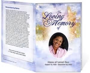 beautiful funeral programs 13 best images about projects to try on trees program template and memorial service