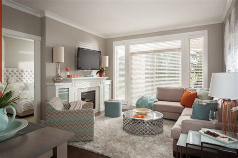 sherwin williams paint store surrey south surrey condo transitional living room