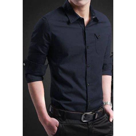 Kemeja Pria Slim Fit Green Army Original Kemeja Tentara kemeja pria slim fit keren trend fashion pria model 2017
