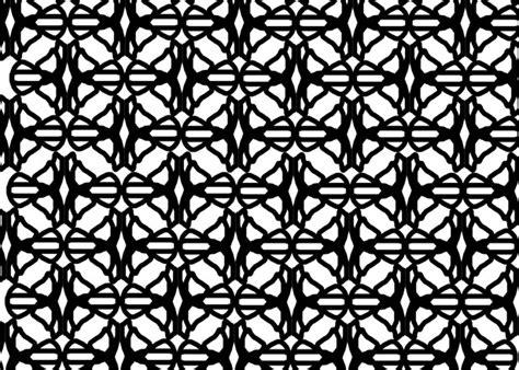 black pattern geometric 黒の幾何学模様3 無料画像 public domain pictures